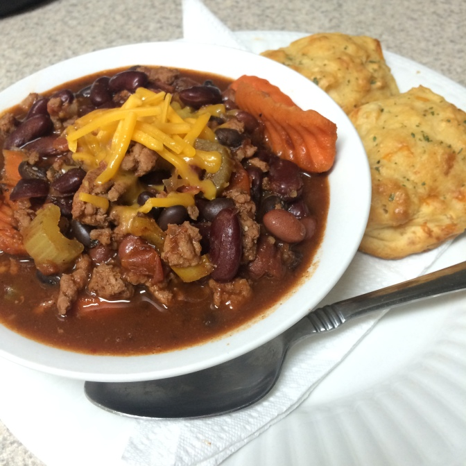 [RECIPE]: Drunk and Spicy Turkey Chili