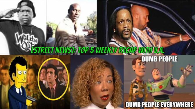 [Street News] Top 5 Weekly Recap: Tyrese went gay for 'Baby Boy' and Tiny alters PERMANENT eye color?!