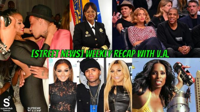 [Street News]: Chris Brown and Young Berg got 99 Problems while Beyonce has none.