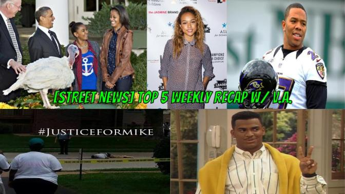 [Street News] The Obama's are frowned upon during Thanksgiving and Ray Rice is back?! Plus, Justice for Mike Brown