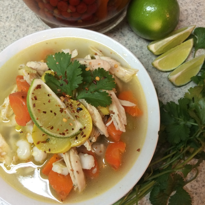 """[RECIPE] """"Country Style Chicken Pozole"""" 30min, $20, and 10 Steps. Easy as 3-2-1!"""