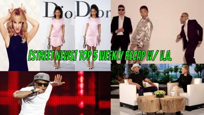 [Street News] Rihanna goes Dior, Empire's Season Finale drops jaws + Walmart has a meth lab!