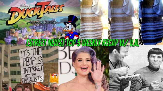 [Street News] Kelly calls it QUITS! Obama has a Veto spree + Ducktales 2017 is underway!