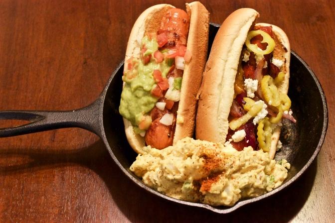 [RECIPE] Memorial Day Dog's + Deviled Egg Potato Salad